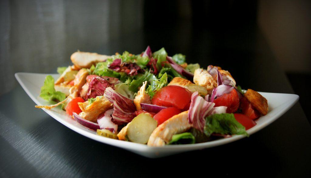 Free Desert Salad